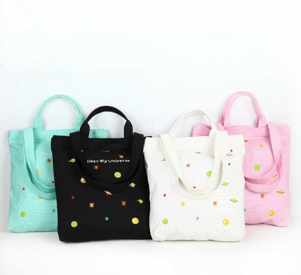 supermarket-font-b-shopping-b-font-bags-cotton-canvas-embroidery-foldable-reusable-grocery-font-b-shopping-b-font-bags-wholesale-life-travel-necessities