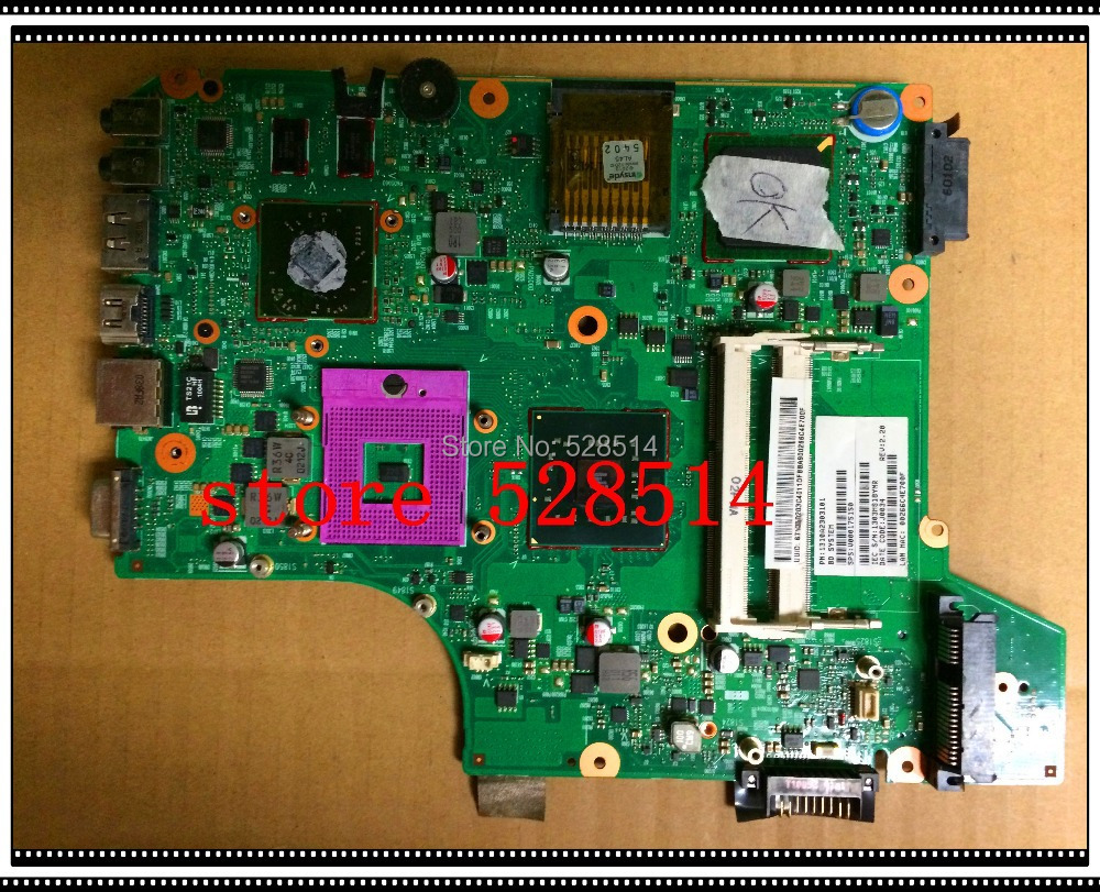 original   For Toshiba Satellite L500 L510 L535 Laptop Motherboard Mainboard V000175150 6050A2303101-MB-A02 100% Test ok  motherboard for toshiba satellite t130 mainboard a000061400 31bu3mb00b0 bu3 100% tsted good
