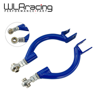 WLR RACING BLUE FOR 95 98 240SX S14 S15 R33 REAR ADJUSTABLE CAMBER CONTROL ARM KIT SUSPENSION WLR9817