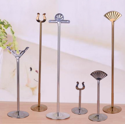 18inch tall stainless steel table number holders wedding ...