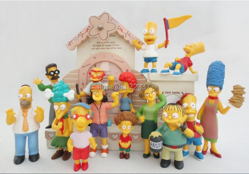 Kids Toys Action Figure: The Simpsons Action Figure Toy Collection Figures Model