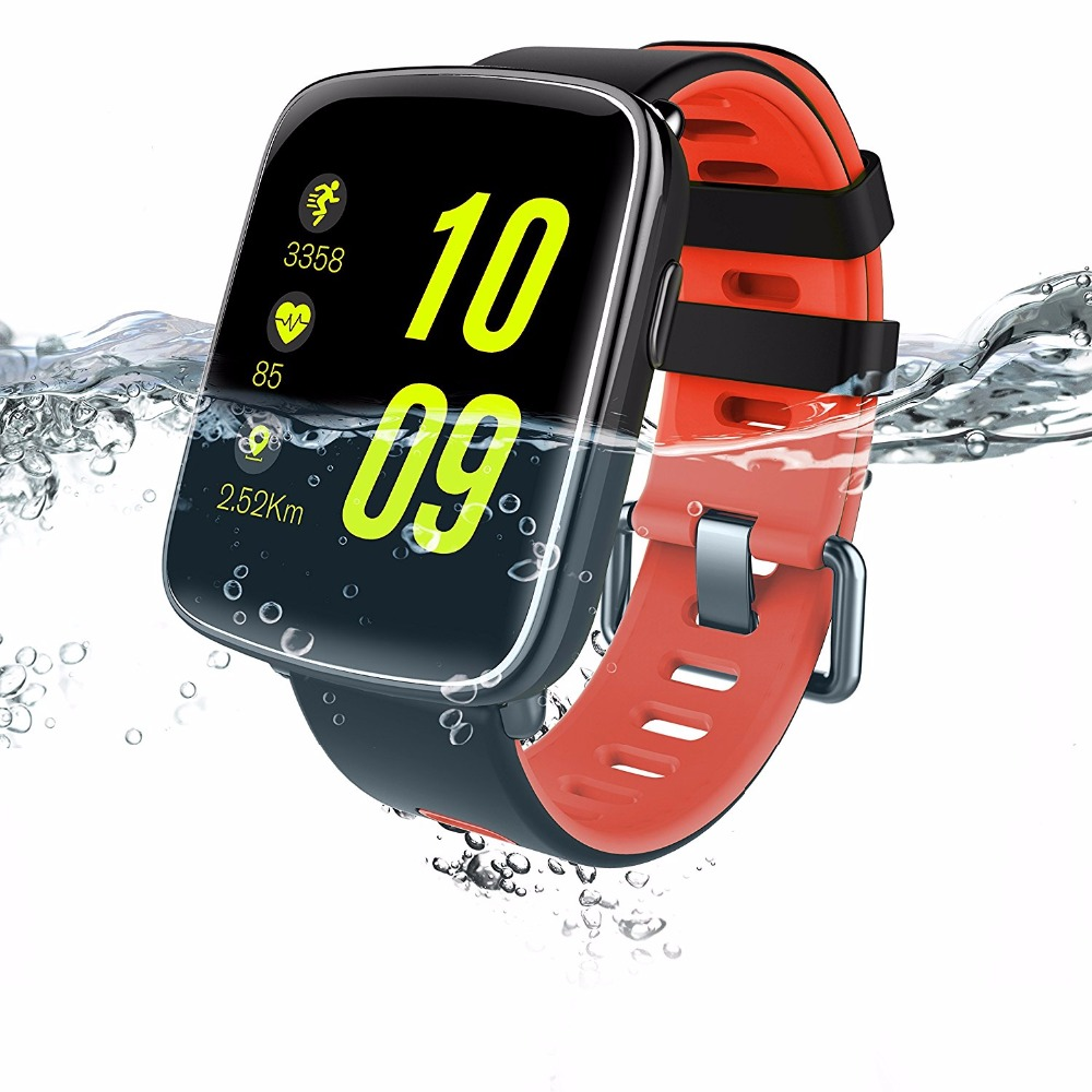 Smart Watch Waterproof Ip68 Heart Rate Monitor GV68 Bluetooth Smartwatch Swimming with Replaceable Straps for IOS Android PhoneSmart Watch Waterproof Ip68 Heart Rate Monitor GV68 Bluetooth Smartwatch Swimming with Replaceable Straps for IOS Android Phone