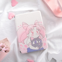 Cute Girl Paperwhite3 Magnet PU Flip Cover For Amazon Kindle Paperwhite 1 2 3 449 558