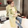 Burderry Женщин Burderry Специальное Предложение Полиэстер Мода Broadcloth Пальто 2016 В Длинный Отрезок Новый Г-Жа Ветровка