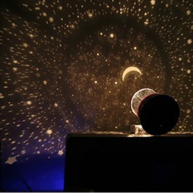 Night Light Child Projector  Sky Star Moon Master Children Home Lamp Kids Baby Sleep Romantic Cupid Led Projection Table Lamp