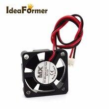 3D-принтеры Вентилятор охлаждения 2510 3010 4010 5010 6010 6015 мм с 2Pin Dupont провод кулер несколько вариантов постоянного тока 5 в возрасте от 12 до 24 В Вентилятор охлаждения