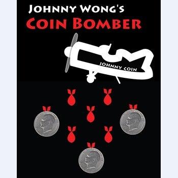 Bombardier de pièces (Version Morgan Coin)-tours de magie, pièce, Gimmick, Illusion, gros plan, Prop, mentalisme