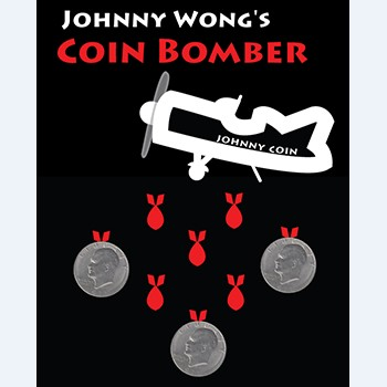 Coin Bomber (Morgan Coin Version) - Magic Tricks,Coin,Gimmick,Illusion,Close Up,Prop,Mentalism цена 2017