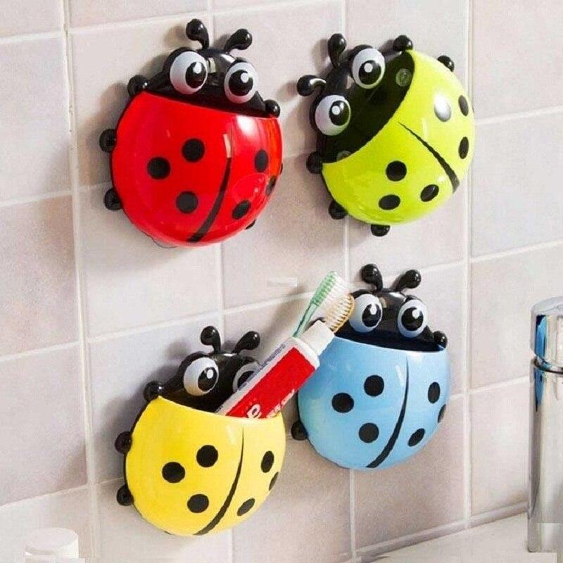 4 Түсті Ladybug Designed Мультфильм қабырғасы - Үйге арналған тауарлар - фото 1