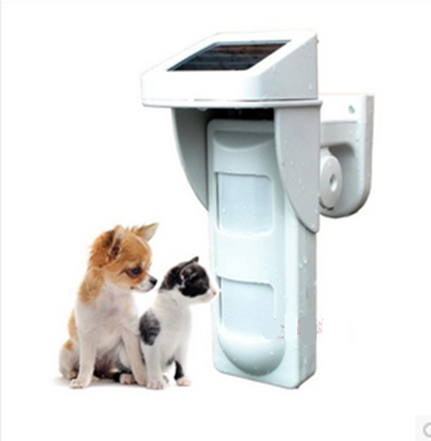 433.433.92MHz Solar Power Wireless Outdoor PIR Motion Sensor Detector Movement Detector pet immune Motion Sensors цена