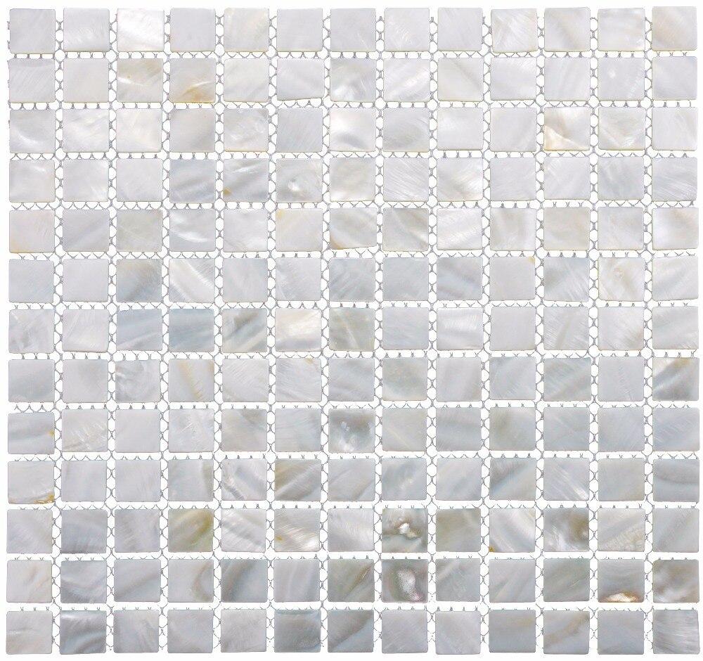Perlmutt Muschel Mosaik Fliesen für Küche Wandanschluss Bad Wände ...