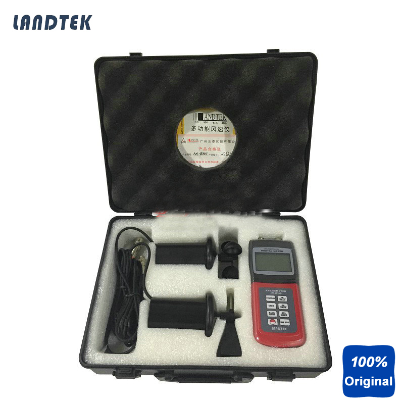Multi-function Thermo Anemometer Landtek AM4836C multi function green
