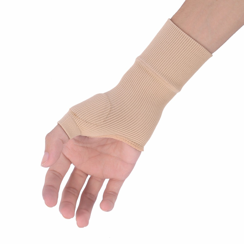 1 Pair Thumb Hand Wrist Support Therapy Gloves Gel Silicone Filled Arthritis Joint Sprains Compression Hand Support Strap Glove