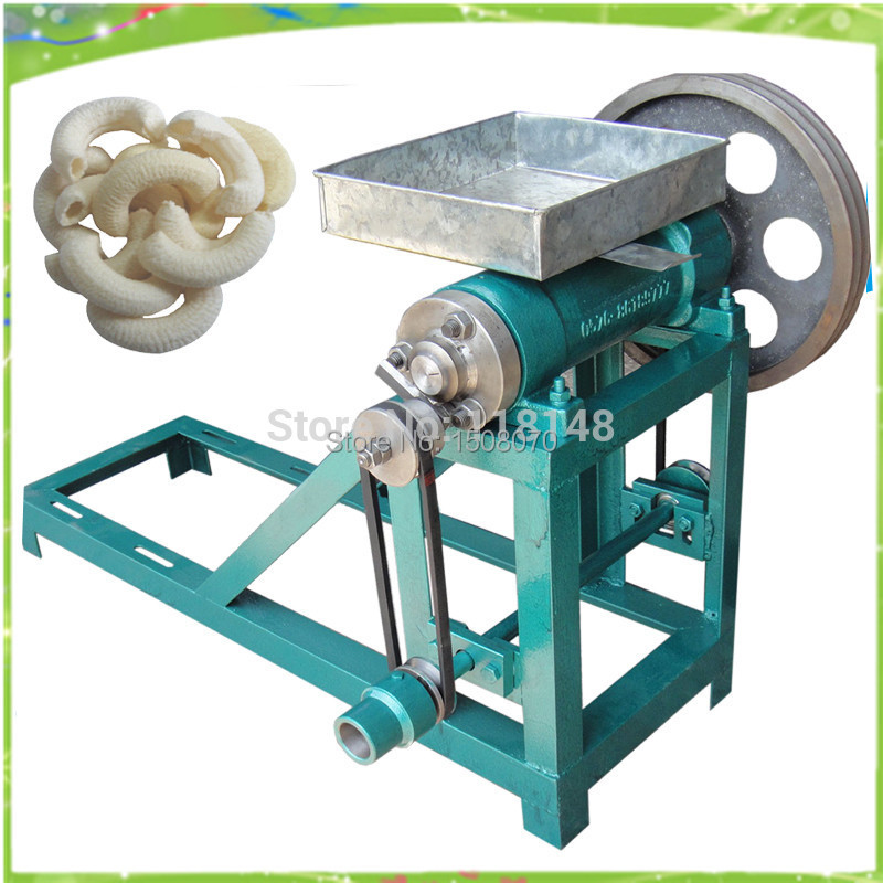 free shipping corn extruder, corn puffed extrusion, rice extruder, corn extrusion machine,food extrusion machine large production of snack foods puffing machine grain extruder single screw food extruder