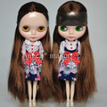 Free shipping Nude Blyth Doll, with Brown straight   hair,Fashion doll Suitable For DIY Change BJD , For Girl's Gift,PJ012