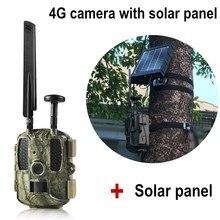 Gps охотничья камера 4G с 3000 мАч солнечная панель мобильное приложение управление беспроводное Обнаружение движения Chasse Дикая камера ловушка фото 4G