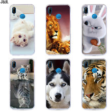 Silicone Cover For Huawei P20 LITE Case Silicone TPU For Huawei p20LITE Transparent Back Covers for huaweiP 20 Lit/Nova3E(China)