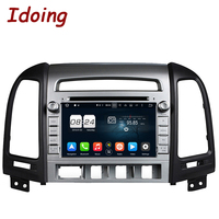 Idoing 7 Steering Wheel 2 Din For Hyundai Santa Fe Android 6 0 8 Core 2G