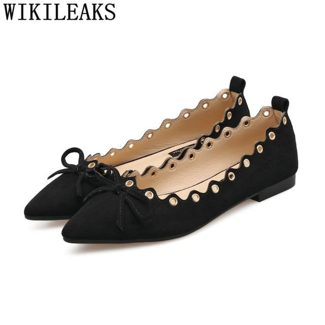 Green Shoes \tladies Flat...
