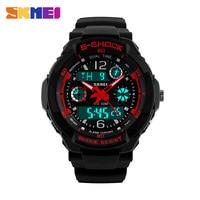 Skmei Brand Children Sports Watches 50m Waterproof Fashion Casual Quartz Digital Watch Boys Girls LED Multifunction