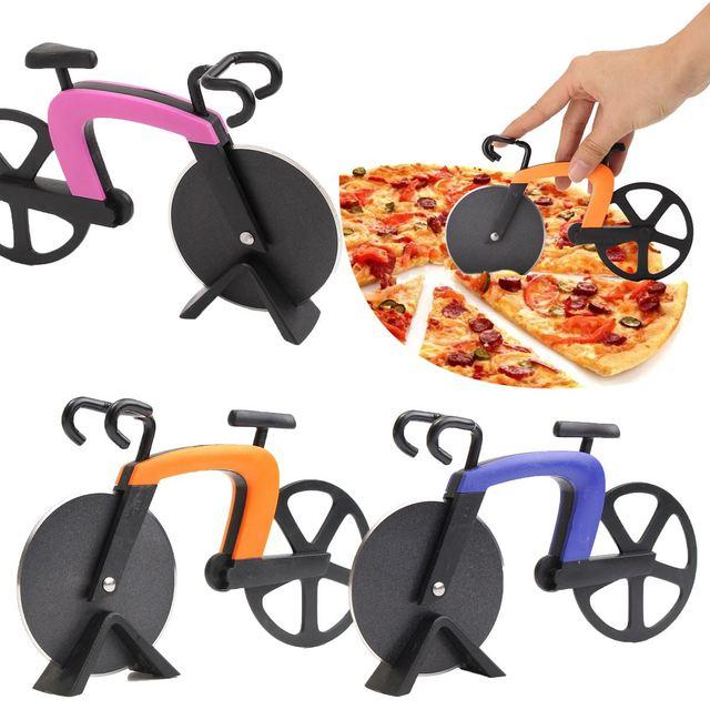 Pizza Cutter Bike Muse Pizza Cutter Wheel Kitchen Utensils Purple