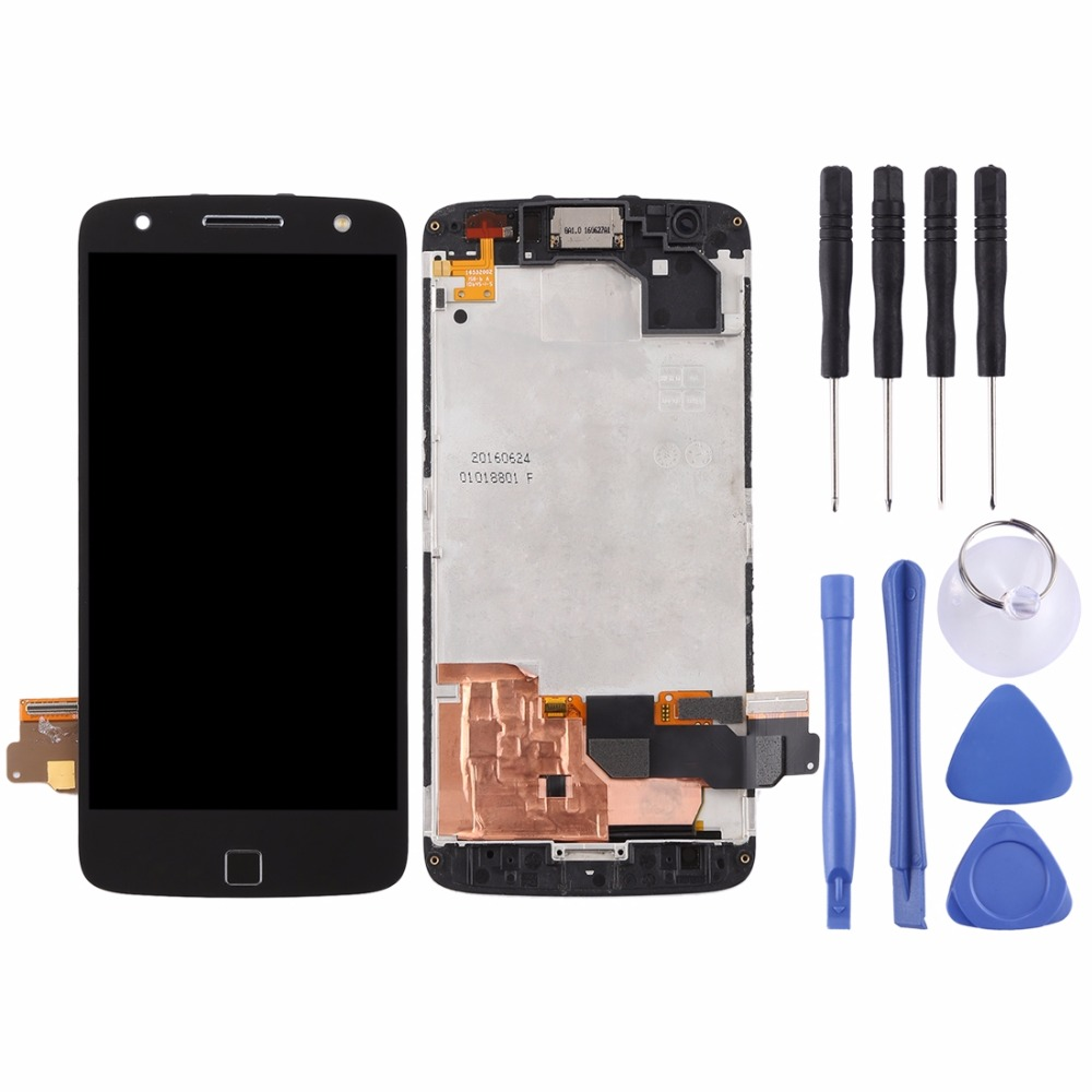 LCD Screen and Digitizer Full Assembly with Frame for Motorola Moto Z Force XT1650-02LCD Screen and Digitizer Full Assembly with Frame for Motorola Moto Z Force XT1650-02