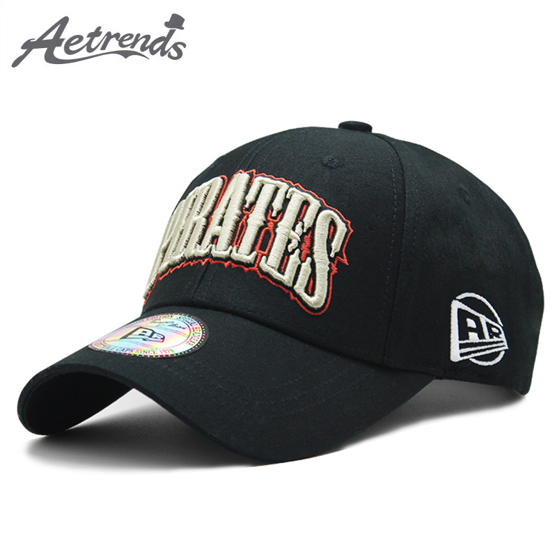 [AETRENDS] 2018 High Quality Pure Cotton   Baseball     Cap   Men Women Outdoor Sport   Caps   Snapbacks Bone Hats Z-6382