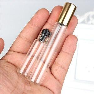 Image 4 - 5 pièces/lot 2ml 3ml 5ml 10ml rouleau transparent sur bouteille à rouleau pour huiles essentielles bouteille de parfum rechargeable déodorant conteneurs