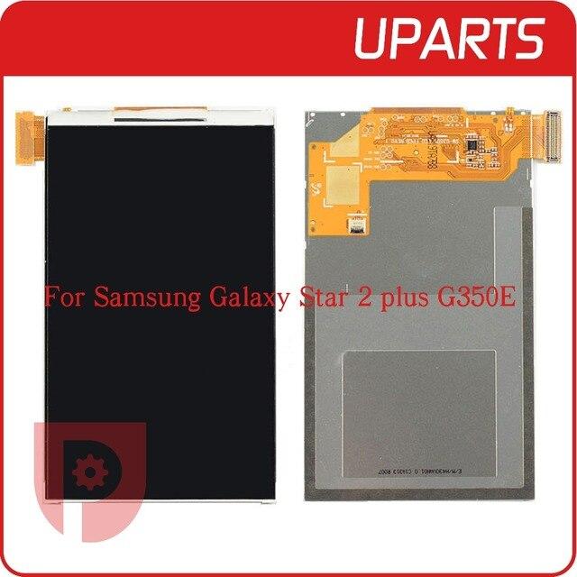 Novo original para samsung galaxy star 2 plus sm-g350e g350e visor do painel de lcd tela reparação peças de reposição, Código de rastreamento