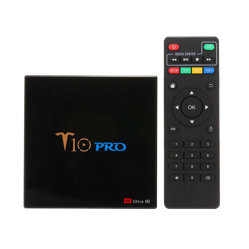 Docooler T10 PRO TV Box Amlogic S905X2 2.4G5G Wifi BT4.1 Android 8.1 32GB 64GB USB3.0 4K VP9 tivi Box thông minh PK H96 X96 TX3MINI TX6