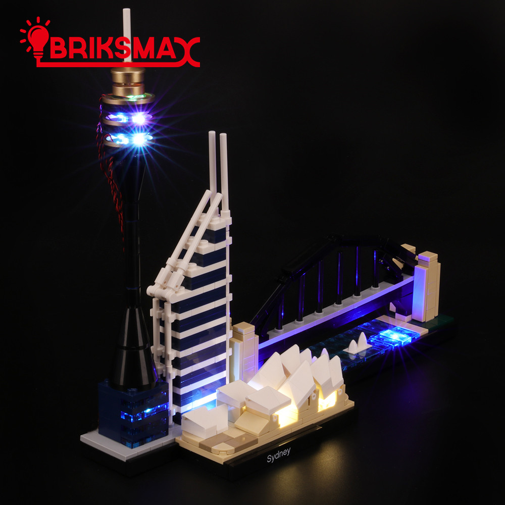 LED Light Kit For Lego 21032 LEGO Architecture Sydney Building Block Lighting