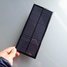 2pcs x 12V 2 5W 208MA Mini monocrystalline polycrystalline solar Panel charge for LED Solar garden