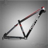 TW3900XC MTB алюминиевый сплав горный велосипед рама плоская Сварка внутренняя линия яркая красочная Марка настраиваемая велосипедная Рама
