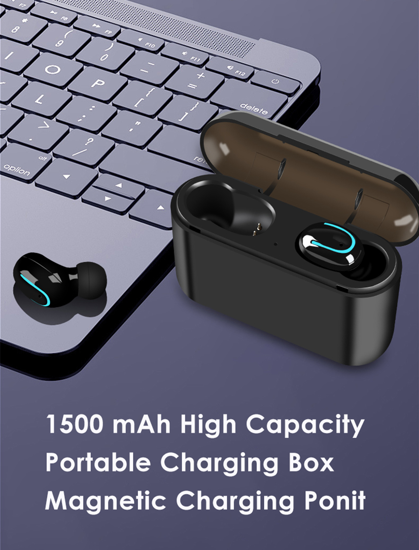 Aimitek Q32 TWS Bluetooth 5.0 Earphones-8