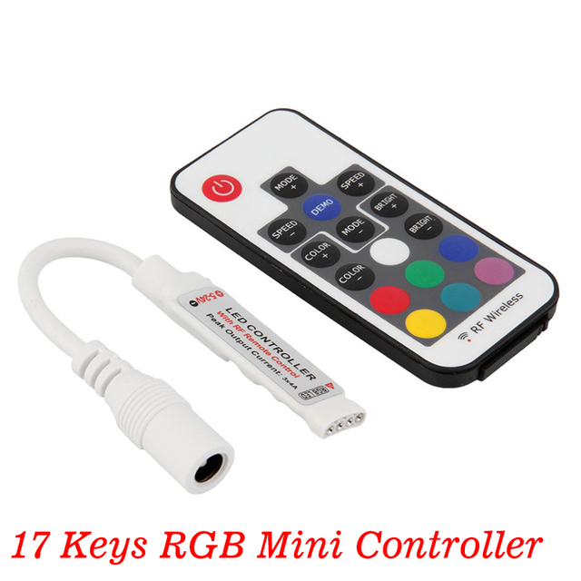 Aliexpress buy wftcl ir remote controller dc12v light wftcl ir remote controller dc12v light accessories for 5050 3528 5630 2835 flexible tape light monocolor mozeypictures Choice Image