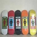 "SK8ERS NAME SERIES GIRL Skateboard Boards 8"" Canadian Maple Kaykay Paten Skateboard Deck"