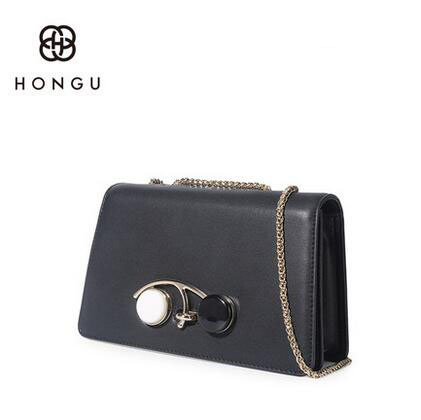 HONGU Fashion ladies Messenger bag Promotions Women's handbags Luxury Leather handbags Chain Shoulder Bags #