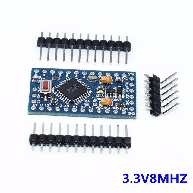 With the bootloader  1pcs pro mini atmega328 Pro Mini 328 Mini ATMEGA328 3.3V/8MHz
