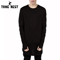 Long Sleeve Men T Shirt 2016 New Listing Spring Casual Solid O Neck T Shirt Personality