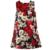 Niños Vestido de Princesa Costume Bata Enfant Fille de Algodón 2016 Marca Niños Vestidos para Niñas Ropa de Amapola Floral Vestido Del Bebé