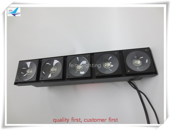 Free shipping 5x30w led pixel bar warm white led matrix strobe blinder light