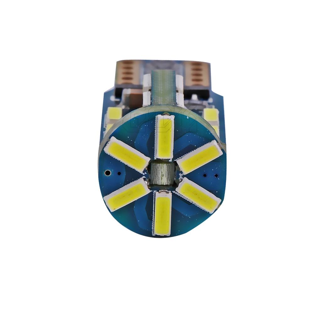 1бр t10 led canbus T10 30led 4014 smd LED No OBC Грешка 194 - Автомобилни светлини - Снимка 4