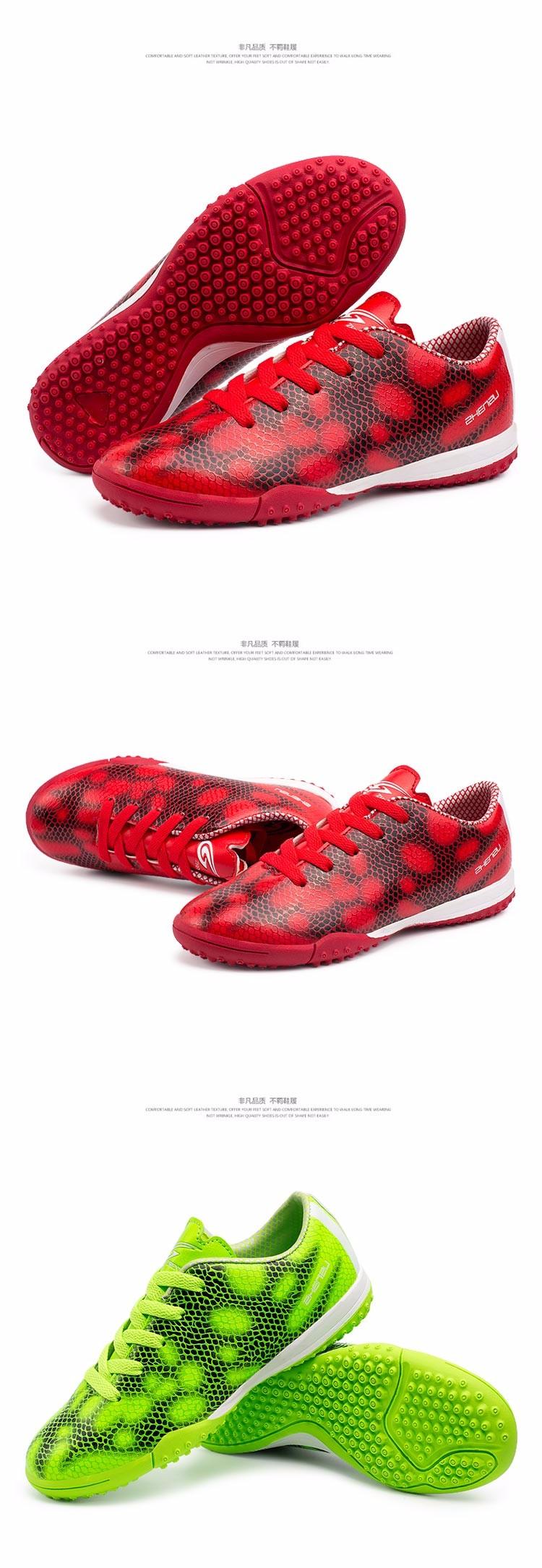 ZHENZU Football Boots Superfly Original Soccer Shoes Cleats Kids Teenagers Training AG HG TF voetbalschoenen chuteira futebol 2