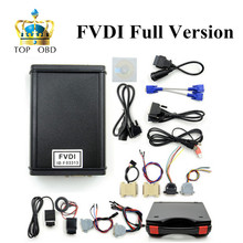 2016 Новый Прибытие Низкая цена FVDI Полная Версия (в том числе 18 Программное Обеспечение) FVDI ABRITES Commander FVDI Диагностический Сканер на складе