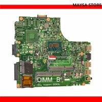 CN 09DJXD 9DJXD FOR Dell Inspiron 3437 5437 Laptop Motherboard DOE40 HSW 12307 2 PWB:VKJ89 REV:A00 2955U mainboard NOTEBOOK