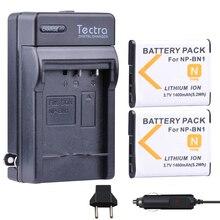 Tectra 2 шт. NP-BN1 np bn1 Батареи для камеры + цифровой Зарядное устройство для Sony Cyber-shot dsc-tx5 dsc-tx7 dsc-tx9 DSC-TX10 DSC-TX20 TX30