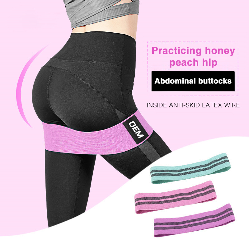 Hip Resistance Bands Unisex Booty Band Hip Circle Loop Workout Exercise For Legs Thigh Glute Butt Squat Bands Non-slip Design