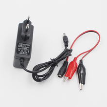 12 V 1000ma Lood zuur Droge Batterij Lader Voor Auto Motor 12 Volt 1A Elektrische Speelgoed Tool Motor Power Opladen adapter Met Clip