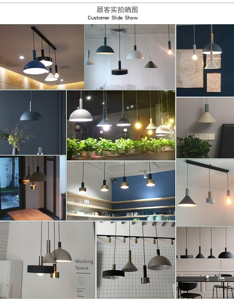 Luzes Pingente bar lâmpada pendurada colorido, quarto, Marca : Handoo
