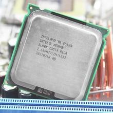 INTEL XEON E5430 Процессор INTEL E5430 процессор quad core 4 ядра 2,67 мГц LeveL2 12 м работать на LGA 775 материнская плата